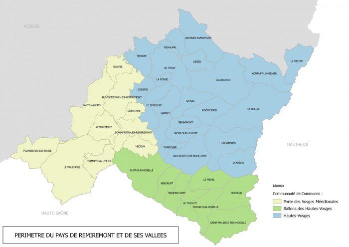 Carte de localisation PCAET