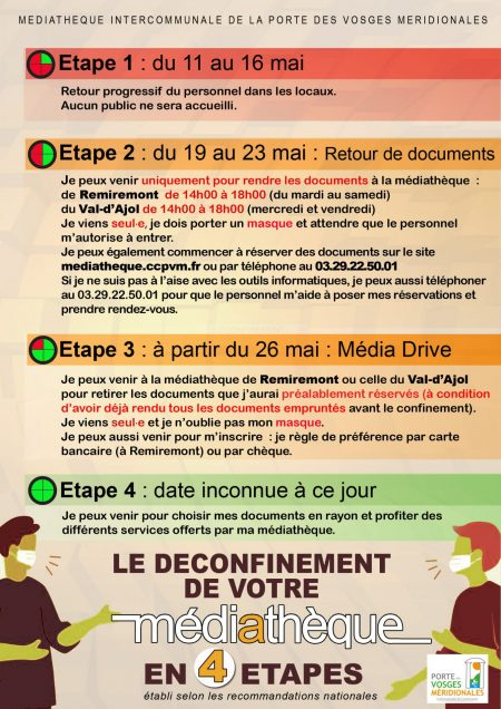 Deconfinement Mediatheque